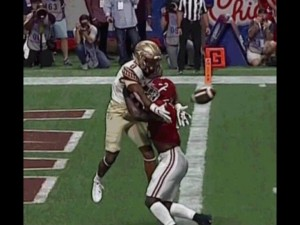 FSU pass interference no call